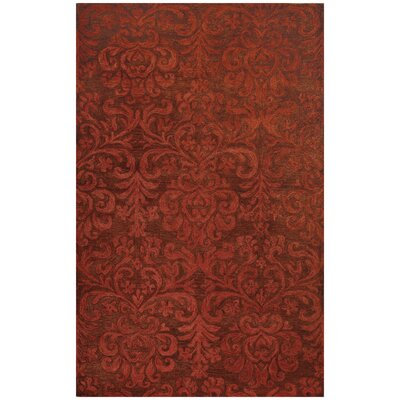 Lace Brick Area Rug Rug Size: Rectangle 9�x 12