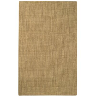 Hermitage Light Yellow Area Rug Rug Size: 5 x 8