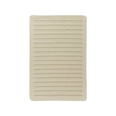 Boathouse Cream Indoor/Outdoor Area Rug Rug Size: Cross Sewn 8 x 11