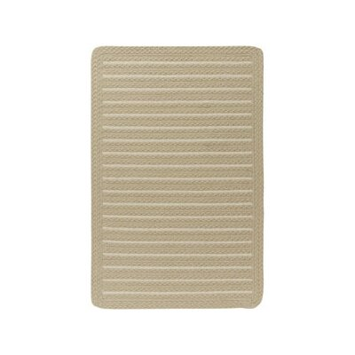 Boathouse Natural Indoor/Outdoor Area Rug Rug Size: Cross Sewn 18 x 26