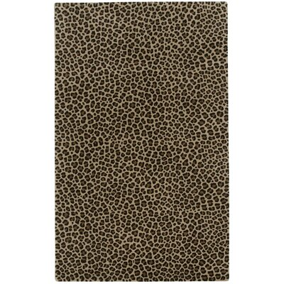 Marquetta Brown Leopard Area Rug Rug Size: Rectangle 9�x 12