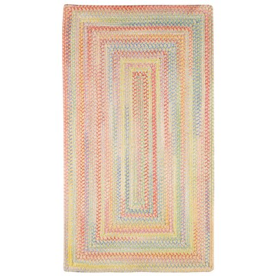 Baby's Breath Buttercup Kids Area Rug Rug Size: Concentric Square 3'