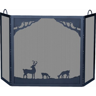 Financing Deluxe Nature 3 Panel Wrought Iron ...