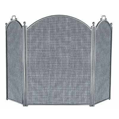Financing for 3 Panel Satin Pewter Panel Fireplac...