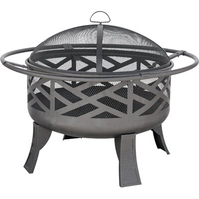 Cast Iron Wood Burning Fire Pit WAD1412SP