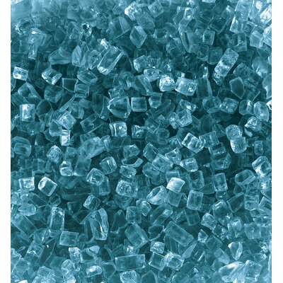 Glass Kit for Outdoor Fire Pits Color: Blue