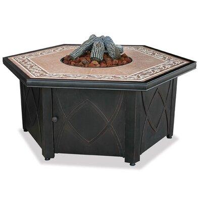 UniFlame LP Gas Fire Pit Table wi (2 Pieces) - Color: Blue at Sears.com