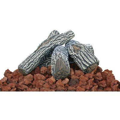UniFlame Lava Rock and Log Kit For Outdoor Fire Pits at Sears.com