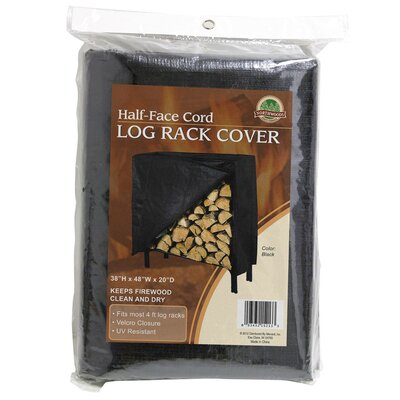 Vinyl Firewood Log Rack Cover