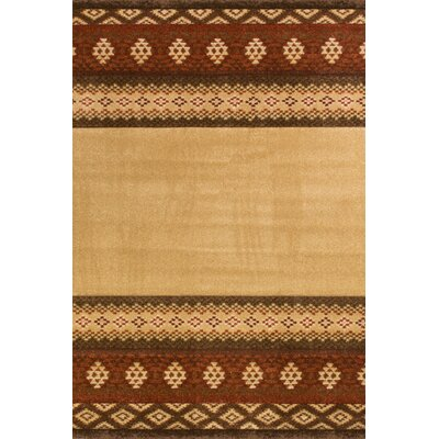 Spivey Brown Rug Rug Size: Rectangle 111 x 37