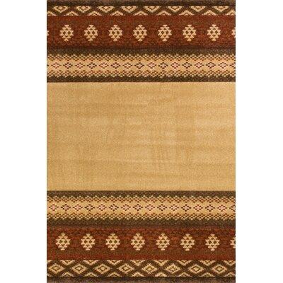 Da Vinci Brown Rug Rug Size: Rectangle 111 x 37