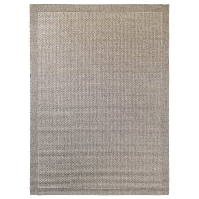 Beige Indoor/Outdoor Area Rug Rug Size: Rectangle 53 x 74