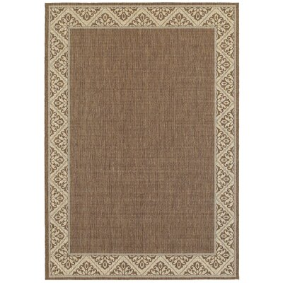 Lachapelle Espresso Indoor/Outdoor Area Rug Rug Size: 53 x 74
