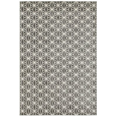 Dunnam Gray Area Rug Rug Size: 7'10