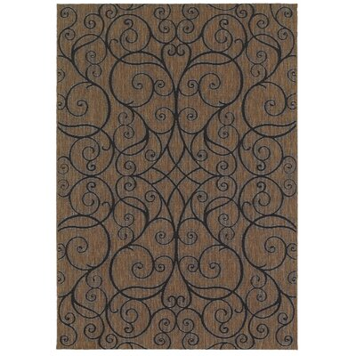 Buscher Rye Indoor/Outdoor Area Rug Rug Size: 53 x 74