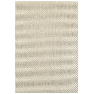 Parkdale Beige Indoor/Outdoor Area Rug Rug Size: 53 x 74