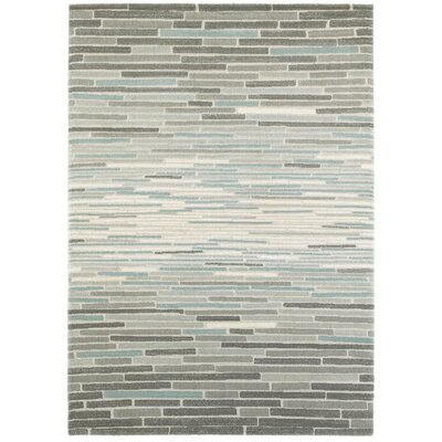 Haverhill Gray Area Rug Rug Size: 7'10