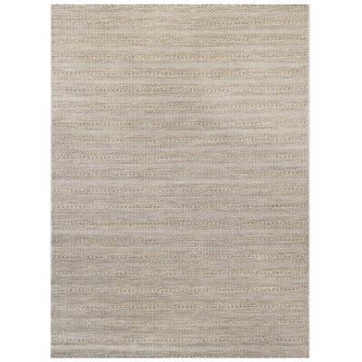 Green/Beige Indoor/Outdoor Area Rug Rug Size: 53 x 75