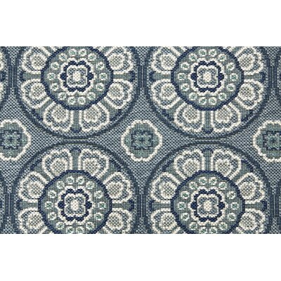Frison Blue/Gray Indoor/Outdoor Area Rug Rug Size: 710 x 10