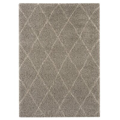 Logsdon Brown Area Rug Rug Size: 53 x 74