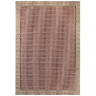 Red Area Rug Rug Size: 2' x 4'