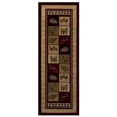 Sperry Beige Area Rug Rug Size: Runner 28 x 75