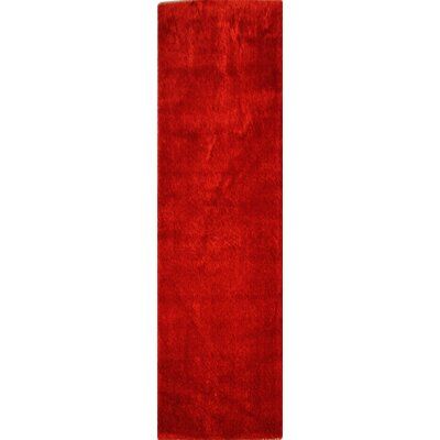 Northington Red Area Rug Rug Size: Runner 28 x 75