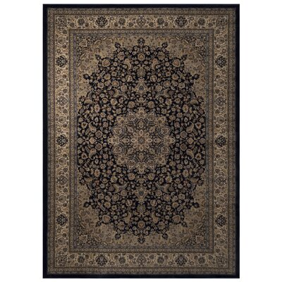 Ramsay Blue/Beige Area Rug Rug Size: 2 x 4