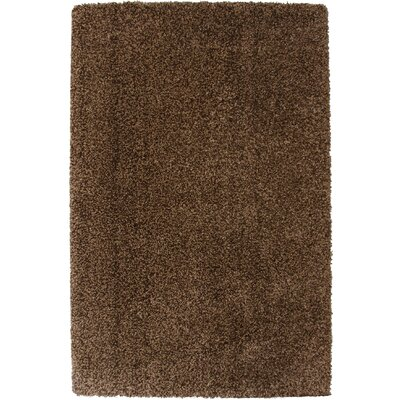 Peloquin Brown Area Rug Rug Size: 2 x 4