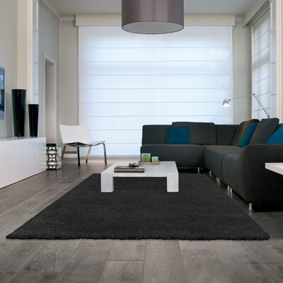 Samara Shag Dark Gray Area Rug