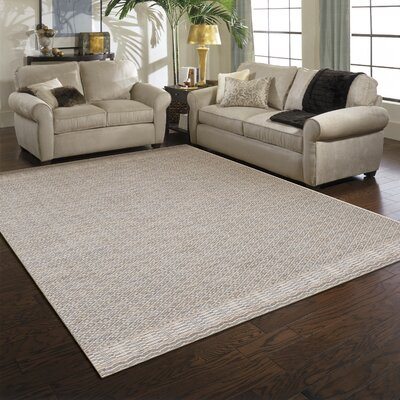 Aberdeen Gray Indoor/Outdoor Area Rug Rug Size: 53 x 74
