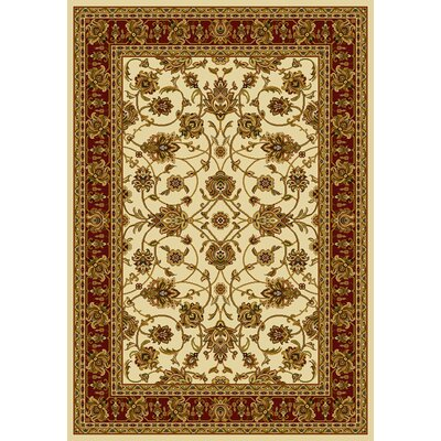 Affinity Reza Ivory Area Rug Rug Size: Runner 111 x 72