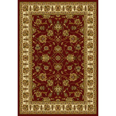 Affinity Reza Red Area Rug Rug Size: Runner 111 x 72