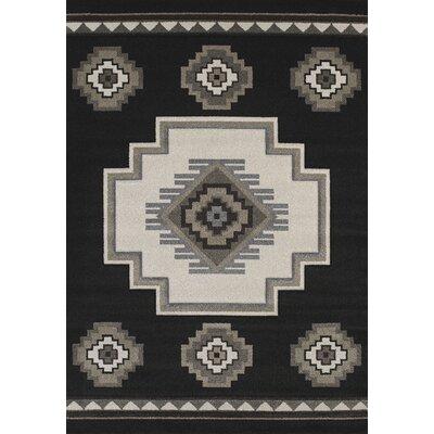 Townshend Black Mountain Rug Rug Size: 53 x 76