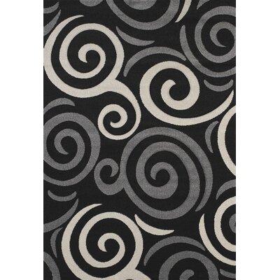 Townshend Black Pinball Rug Rug Size: 710 x 112