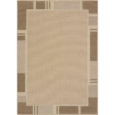 Solarium Beige Terrace Indoor/Outdoor Rug Rug Size: 710 x 106