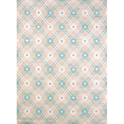 Regional Concepts Trellis Blue Area Rug Rug Size: Rectangle 110 x 3