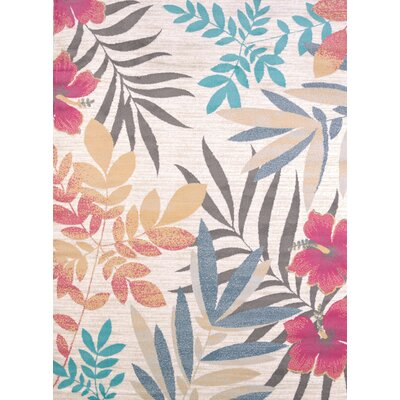 Modern Texture Sea Garden Area Rug Rug Size: Rectangle 710 x 106