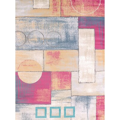 Modern Texture Abstract Area Rug Rug Size: 710 x 106