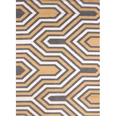 Modern Texture Cupola Harvest Area Rug Rug Size: Rectangle 53 x 72