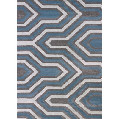 Modern Texture Cupola Charcoal Area Rug Rug Size: Rectangle 710 x 106