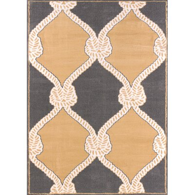 Modern Texture Cordage Harvest Area Rug Rug Size: Rectangle 53 x 72