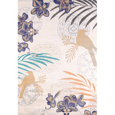 Orchid Linen Area Rug Rug Size: 53 x 72