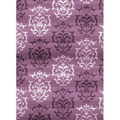 Dallas Countess Lilac Area Rug Rug Size: 23 x 72
