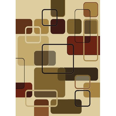 China Garden Jazz Linen Area Rug Rug Size: 110 x 3