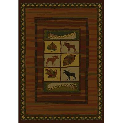 Genesis Highland Falls Lodge Area Rug Rug Size: Runner 111 x 74