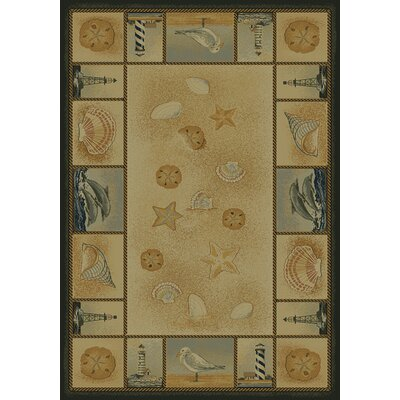 Genesis Beachcomber Natural Novelty Rug - SAMPLE