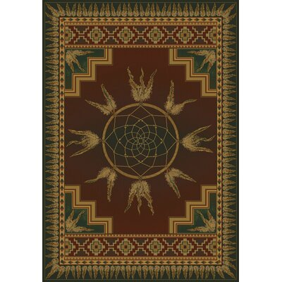 Genesis Dream Southwestern Catcher Lodge Area Rug Rug Size: 710 x 106