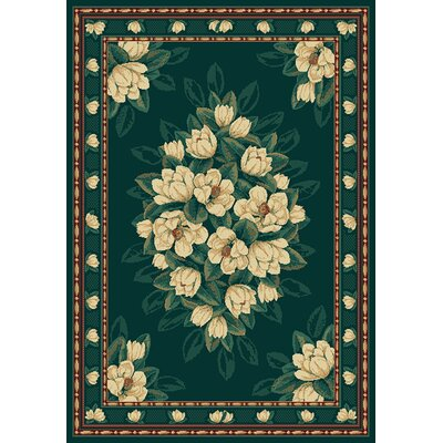 Manhattan Magnolia Hunter Area Rug Rug Size: Runner 111 x 74