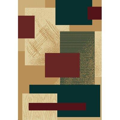 Manhattan Soho Berber Area Rug Rug Size: 53 x 76